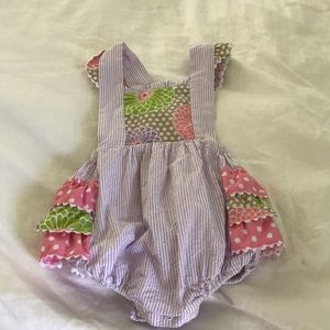 Other - Stelly belly ruffled one piece for baby girl